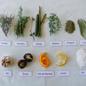 Nº 12- Ingredientes de aliño